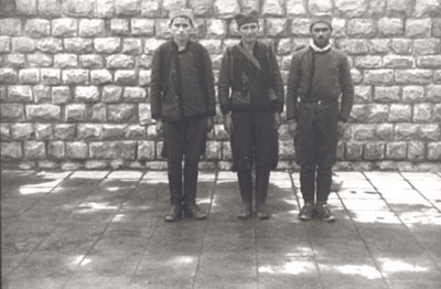 Many Yugoslav partisans had been captured while serving in partisan units and were later deported to Gusen via Mauthausen. (photo credits: Courtesy of Museu d'Història de Catalunya, Barcelona)