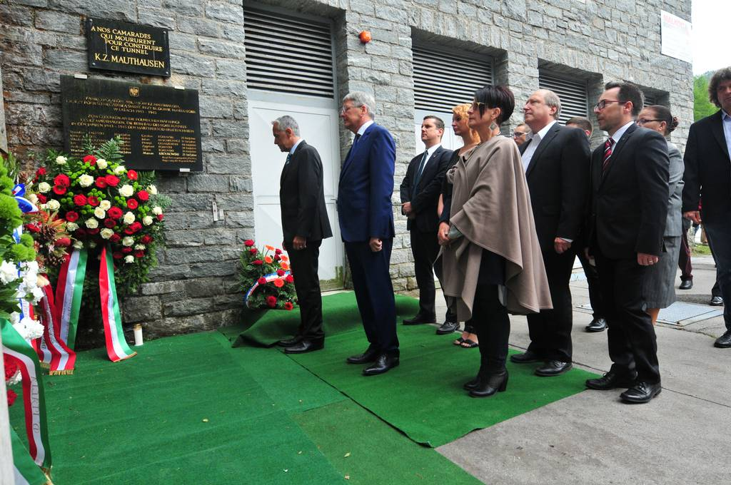 International Commemoration Ceremony Against Forgetting in Loibl