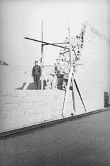 Northern supporting wall, presumably spring 1943 (photo credits: SS-photo, Courtesy of Museu d'Història de Catalunya, Barcelona: Fons Amical de Mauthausen)