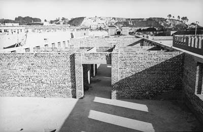 Prisoner block 7/8, presumably spring 1943 (photo credits: SS-photo, Courtesy of Museu d'Història de Catalunya, Barcelona: Fons Amical de Mauthausen)