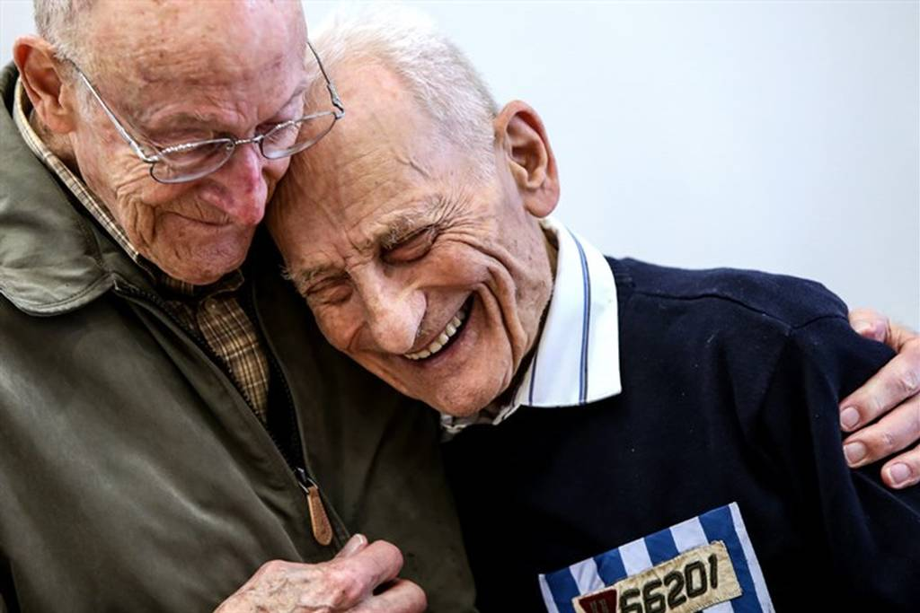 Award-Winning Photo of a Meeting of the last Survivors and Liberators of the Mauthausen Concentration Camp