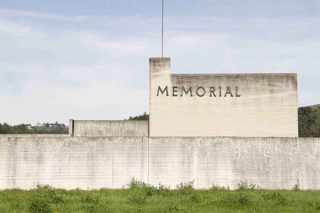 View of the Gusen Memorial (photo credits: Mauthausen Memorial)