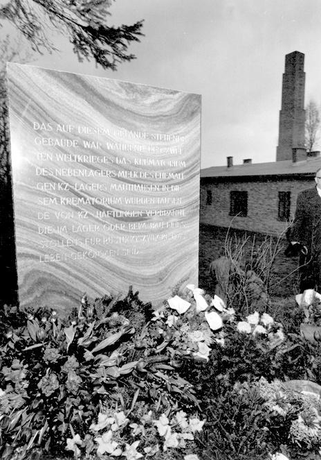 Einweihung der KZ-Gedenkstätte Melk, 1963 (Fotograf*in unbekannt, KZ-Gedenkstätte Mauthausen)