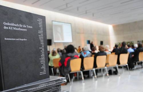 Book presentation 'Memorial Book for the Dead of the Mauthausen Concentration Camp and its Subcamps'