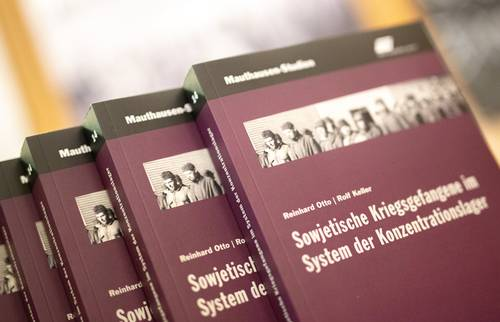 Book launch of 'Sowjetische Kriegsgefangene im System der Konzentrationslager' (Soviet Prisoners of War in the Concentration Camp System)