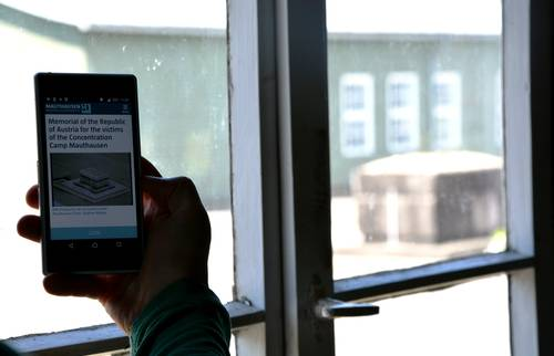 The app of the Mauthausen Memorial – the audio guide in the smartphone
