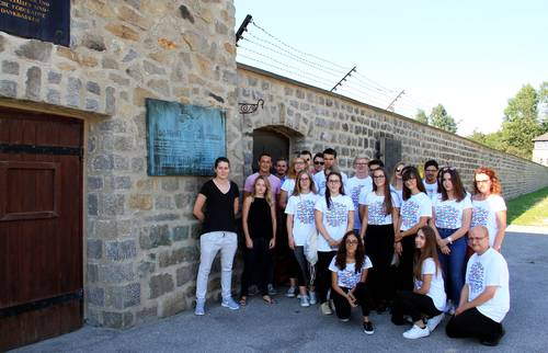 Playing an active role in commemoration: international youth gathering at Mauthausen